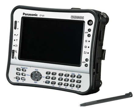 Panasonic Toughbook U1 Ultra Rugged UMPC with numeric keypad