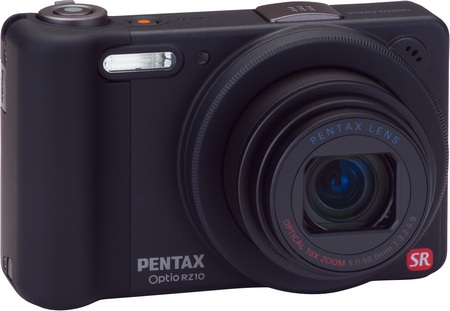 Pentax Optio RZ10 10x Zoom Camera black