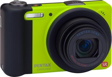 Pentax Optio RZ10 10x Zoom Camera lime