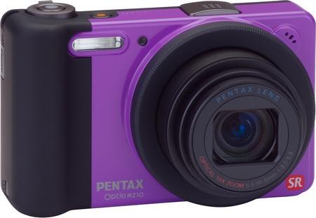 Pentax Optio RZ10 10x Zoom Camera violet