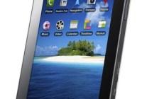 Samsung Galaxy Tab Tablet portrait angle