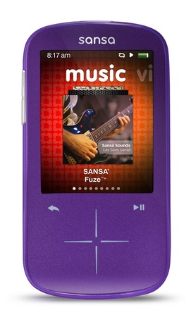 SanDisk Sansa Fuze+ Portable Media Player