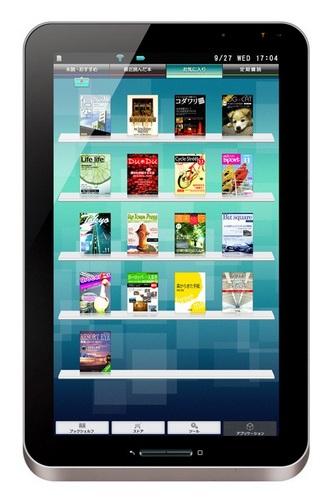 Sharp Galapagos 10.8-inch e-book reader