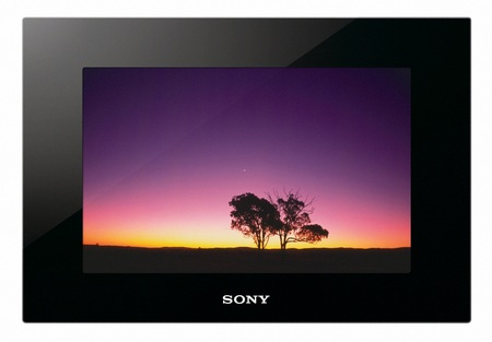 Sony S-Frame DPF-VR100 Digital Frames supports AVCHD Playback