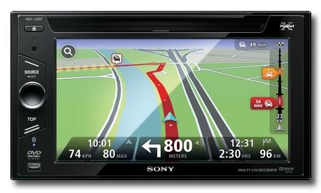 Sony Xplod XNV-L66BT and XNV-660BT Multimedia Navigation Systems front
