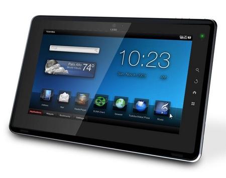Toshiba FOLIO 100 Android Tablet with Tegra 2