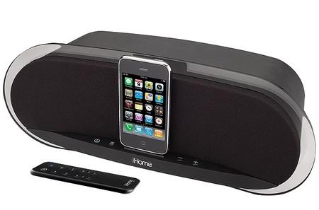 iHome iP3BZC iPhone iPod Speaker Dock