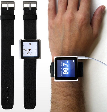 iLoveHandles Rock Band turns new iPod nano into watch