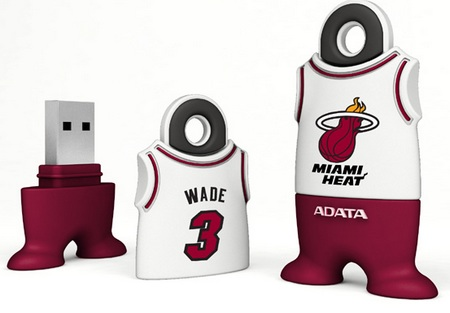 A-DATA NBA USB Flash Drives Dwyane Wade Miami Heat