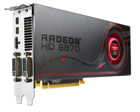 AMD Radeon HD6870 GPU