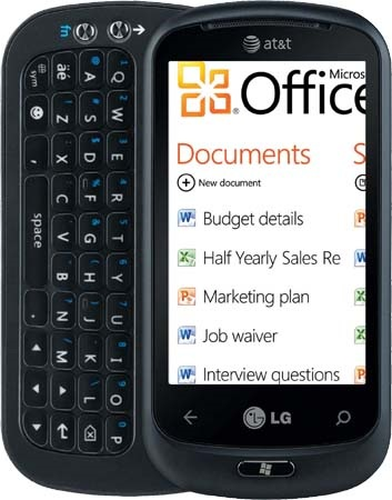 AT&T LG Quantum Windows Phone 7 Smartphone with QWERTY 2