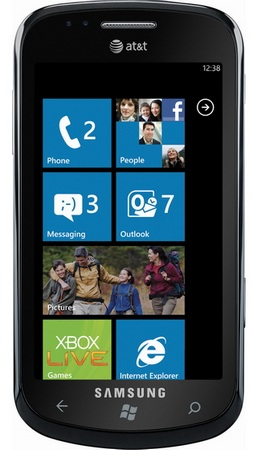 AT&T Samsung Focus Windows Phone 7 Smartphone