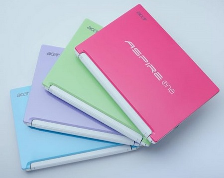 Acer Aspire One Happy Fashionable Netbook