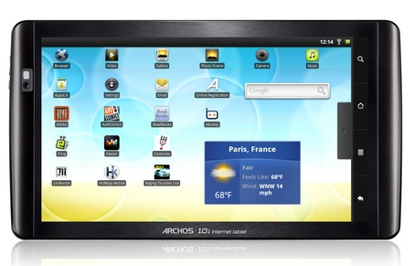 Archos 101 Android Internet Tablet