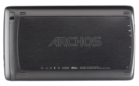 Archos 70 Android Internet Tablet back
