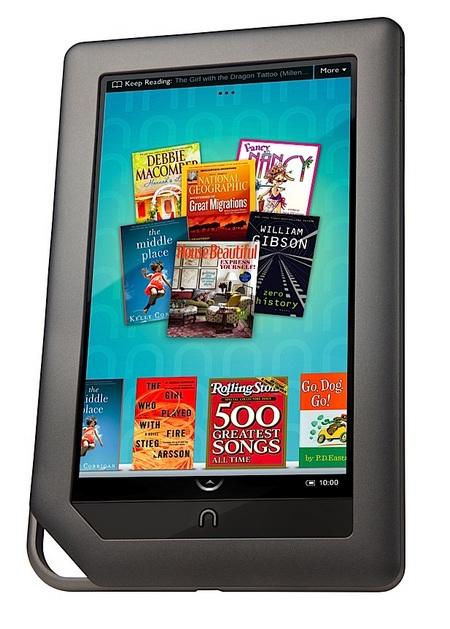 Barnes & Noble NOOKcolor e-book reader with color touchscreen 1