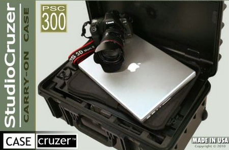 CASECruzer Photo StudioCruzer PSC300 Camera and Laptop Carrying Case