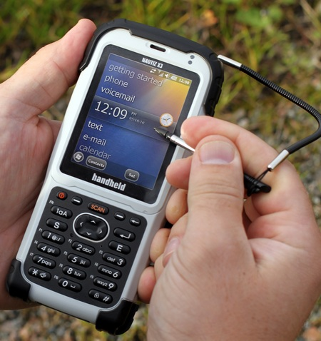 Handheld Nautiz X3 Rugged PDA 1