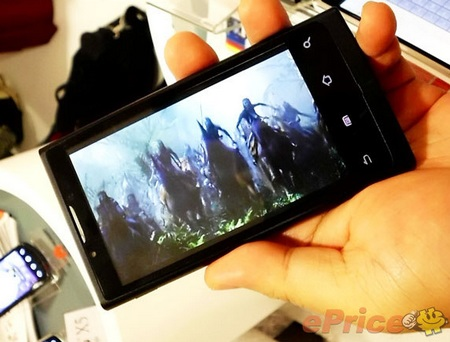 Huawei IDEOS X6 Android Smartphones video playback