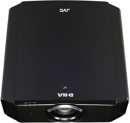 JVC Procision Series DLA-X9, DLA-X7 and DLA-X3 3D-enabled D-ILA Projectors top view