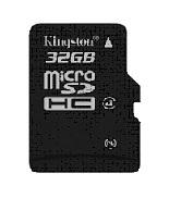 Kingston SDC4-32GBSP 32GB Class 4 microSDHC Memory Card