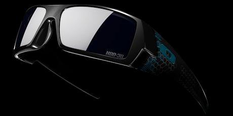 Oakley 3D Gascan Eyewear TRON Legacy Film Special Edition
