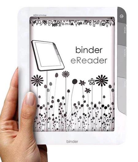 Sagem Binder e-Book Reader gets WiFi and 3G