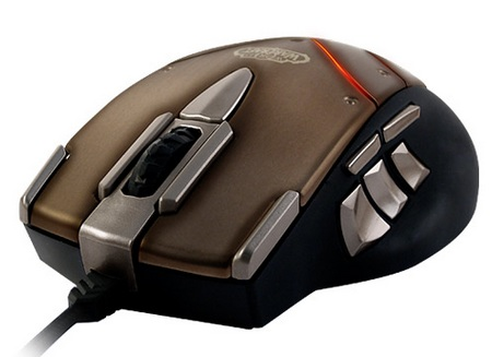 SteelSeries Cataclysm WoW MMO Gaming Mouse 1