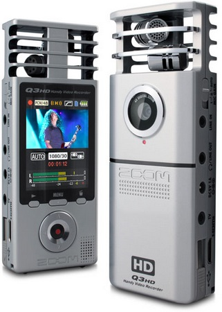 ZOOM Q3HD Portable Full HD Video Camera