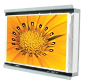 AIS OPEN FRAME LCD Display with LED-Backlight and Touchscreen