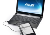 Asus Eee Note EA800 E-book Reader Digital Notepad with notebook