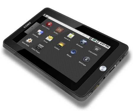 Coby Kyros MID7015 Android tablet