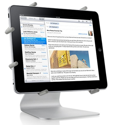 LUXA2 H4 iPad Mobile Holder landscape