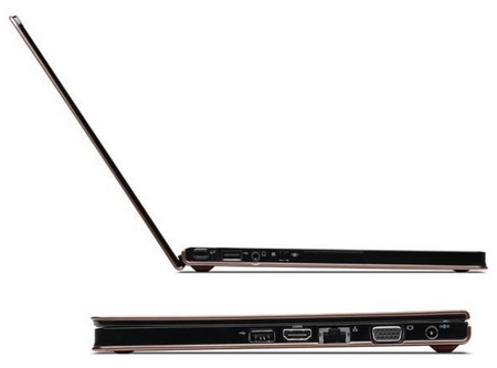 Lenovo IdeaPad U260 Ultraportable Notebook side