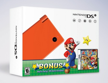 Nintendo DSi Green and Orange Bundles for Black Friday orange
