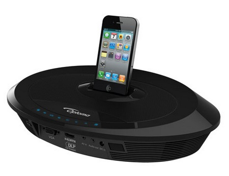Optoma Neo-i Pico Projector with iPhone Dock 1