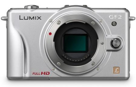 Panasonic LUMIX DMC-GF2 DSLMicro Mirrorless Camera silver