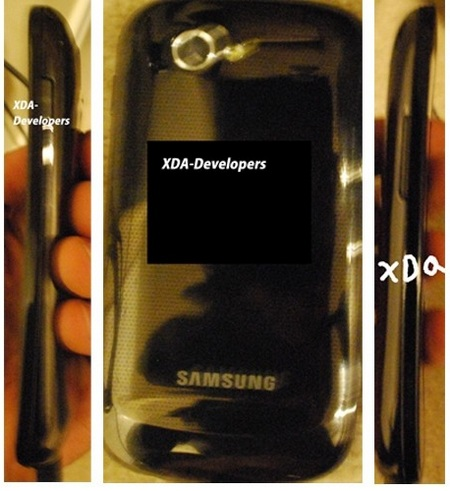 Samsung Nexus S and Gingerbread 2.3 in the wild back side