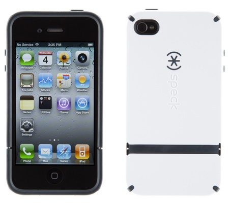 Speck CandyShell Flip iPhone 4 Case white