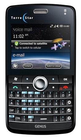 TerreStar Genus Cellular-satellite smartphone