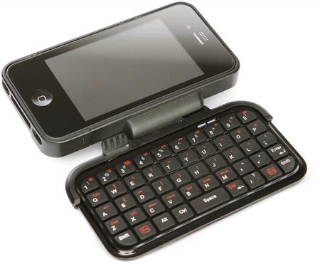 ThinkGeek TK-421 iPhone Keyboard Case