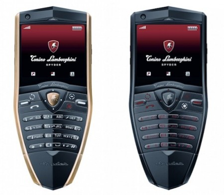Tonino Lamborghini Spyder Series Mobile Phones press shot