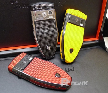 Tonino Lamborghini Spyder Series S-600, S-610, S-620 mobile phone back