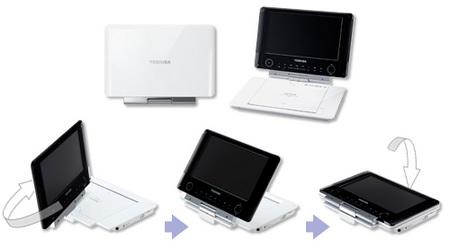 Toshiba REGZA SD-P96DT Portable DVD Player