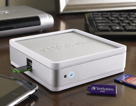 Verbatim MediaShare Mini Brings USB Drives to your Home Network