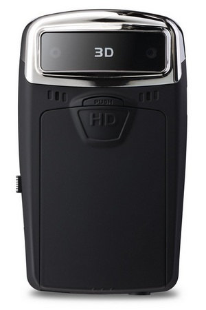 ViewSonic 3DV5 Pocket 3D HD Camcorder back
