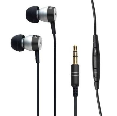 iHome iB24 Noise Isolating Metal Earphones