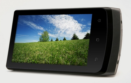 Cowon D3 plenue Android PMP with AMOLED Display landscape