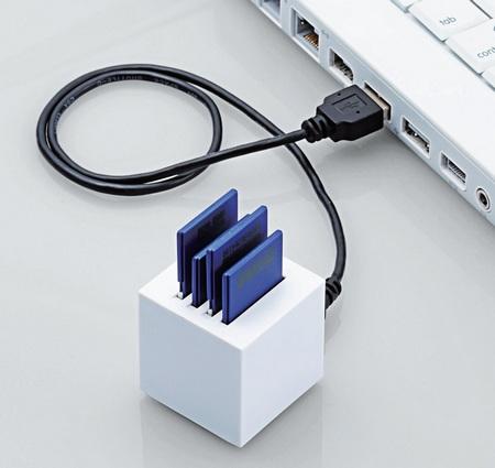 Elecom MR-C27 4-Slot SD Card Reader