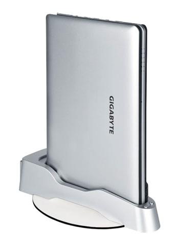 Gigabyte M1005 Netbook with Dual-core Atom N550 docked